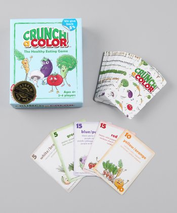 Crunch a Color The Healthy Eating Game