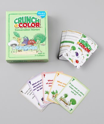 Crunch a Color Conversation Starters