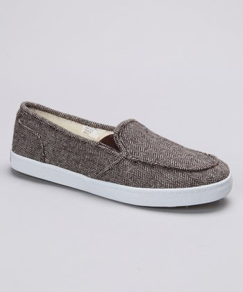 Tan Huntington Wool Slip-On Shoe