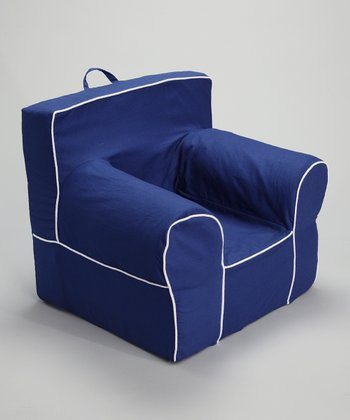 Blue & White Chair