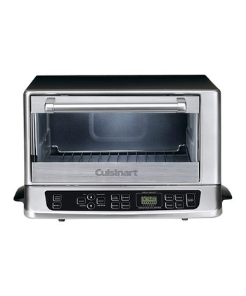 Black & Stainless Steel Exact Heat Toaster Oven/Broiler