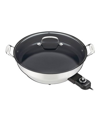 GreenGourmet Nonstick Electric Skillet