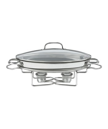 Classic Entertaining 2.5-Qt. Oval Buffet Server