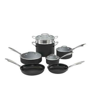 Anodized 11-Piece Cookware Set
