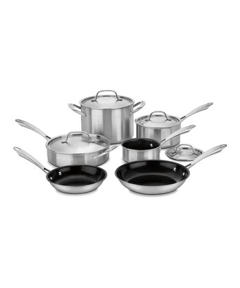 GreenGourmet 10-Piece Cookware Set