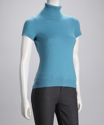 Cullen Tide Cashmere Turtleneck