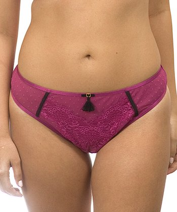 Wild Aster Cabaret Lace Thong - Women & Plus