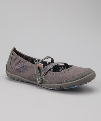Charcoal Metallic Re Treat Mary Jane - Women
