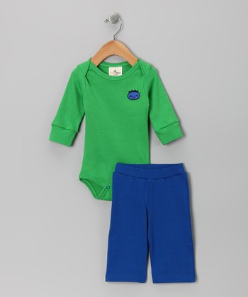 Snips & Snails Organic Bodysuit & Pants - Infant