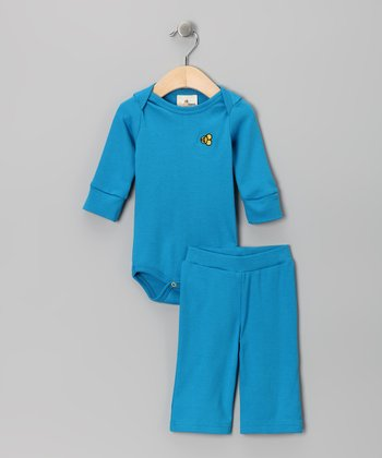 Puppy Dog Tails Organic Bodysuit & Pants - Infant