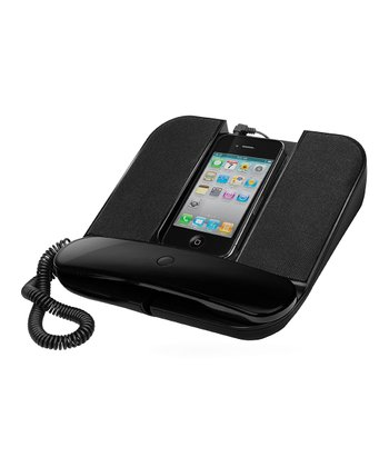 Black Speakerphone for Smartphones