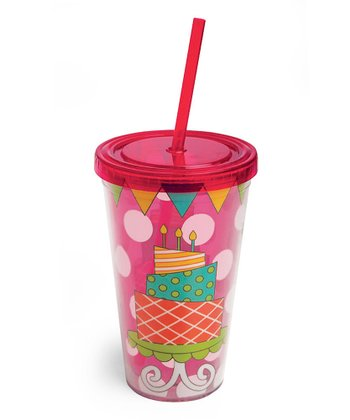 Birthday Cake 17-Oz. Insulated Tumbler