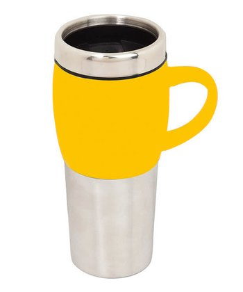 Yellow 16-Oz. Latte Mug