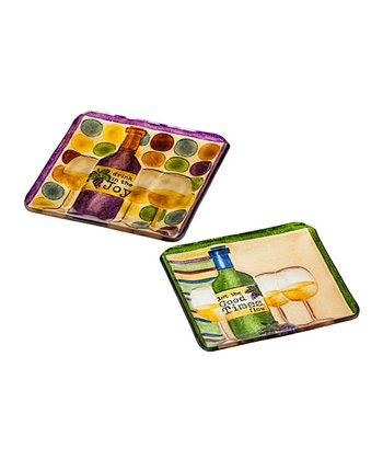 Share the Love Square Platter Set