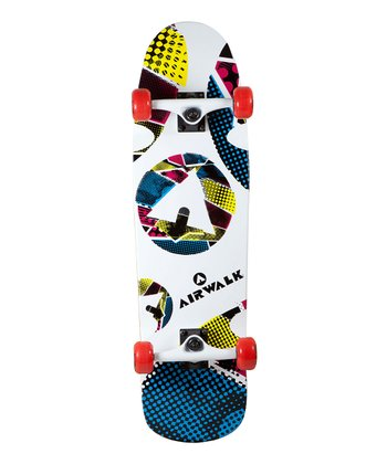 Airwalk White Old School Skateboard