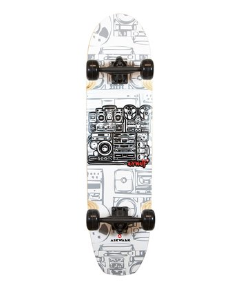 Airwalk White Longboard Skateboard