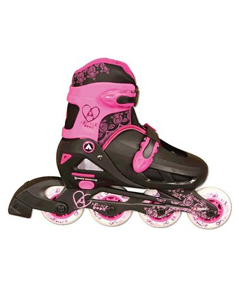 Airwalk Pink & Black In-Line Kids' Skates