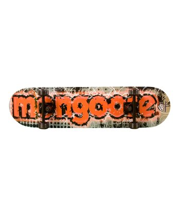 Mongoose Black & Red Bruiser Skateboard