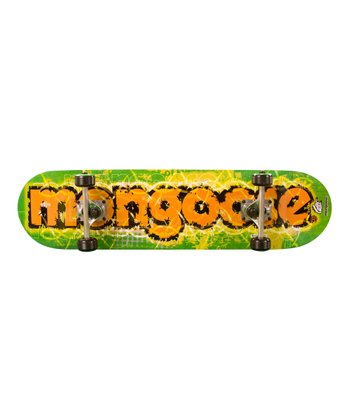 Mongoose Green & Orange Bruiser Skateboard