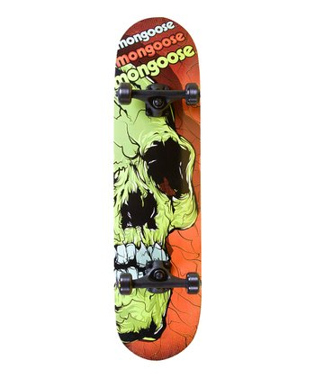 Mongoose Skull Skateboard Set