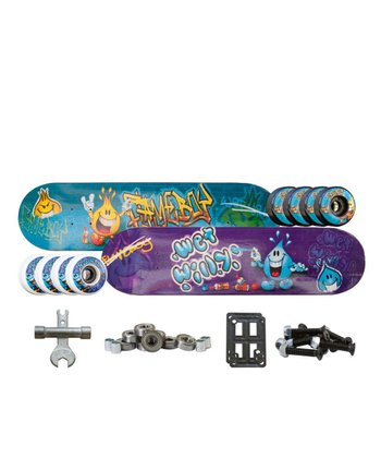 Flameboy & Wet Willy Pro Level Skateboard Set
