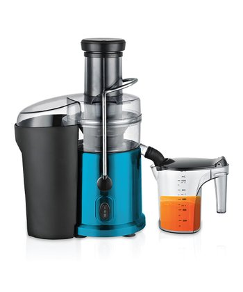 Blue Metallic Juicer