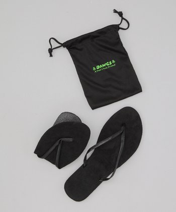 Black Foldable Flip-Flop