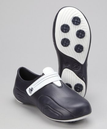 Navy & White Ultralite Golf Shoe
