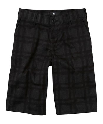 Charcoal Chino Shorts - Boys