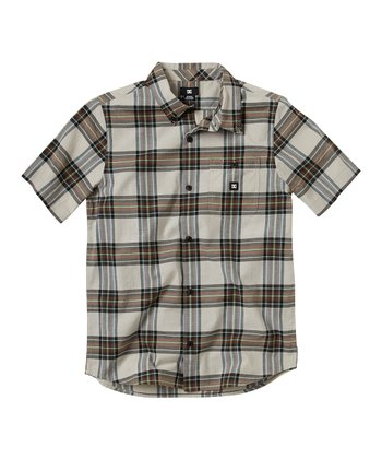 Ash Grego Button-Up - Boys
