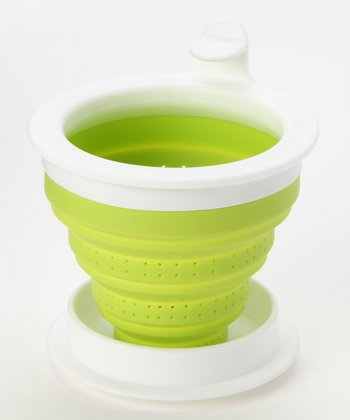 Green Steep Collapsible Tea Infuser