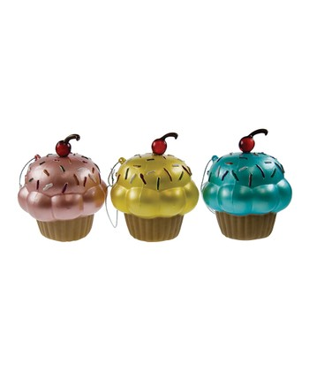 DCI Cupcake Ornament Set
