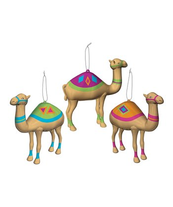 Camel Ornament Set