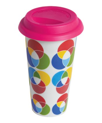 CMYK I Am Not A Paper Cup Travel Mug