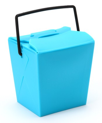 Blue Reusable Takeout Box