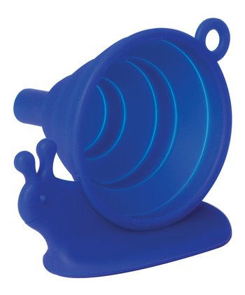 Blue Snail Collapsible Funnel