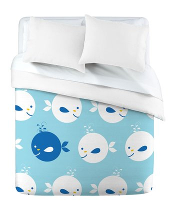 Blue Baby Beach Bum Duvet Cover