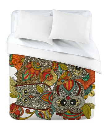 DENY Designs Four Owls Duvet Cover