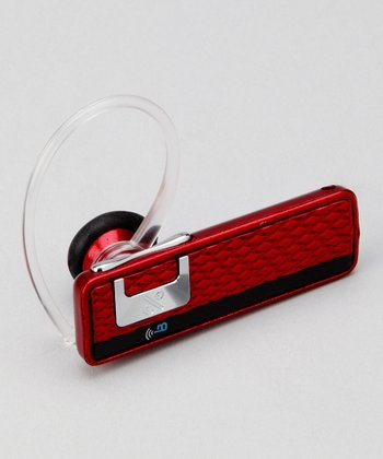 Red TR-91 Bluetooth Headset
