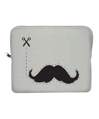 Moustache Canvas Tablet Sleeve