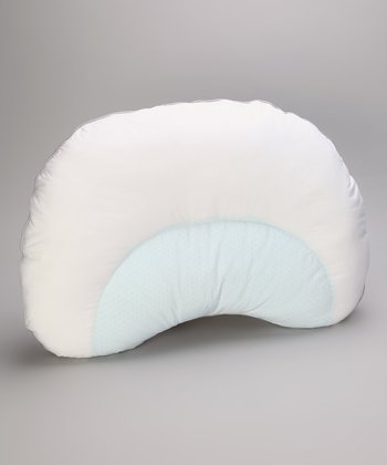 White Curved Suprelle Pillow