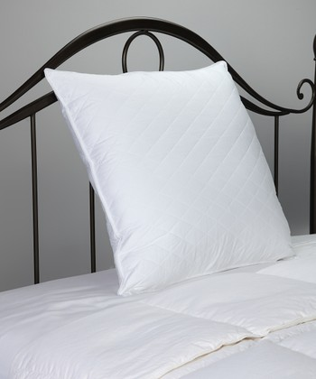 Euro Quilted Sateen Pillow Protector