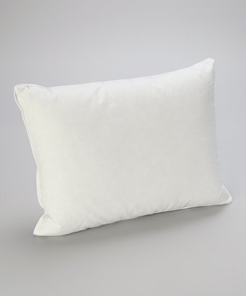 White Down Personal Travel Pillow