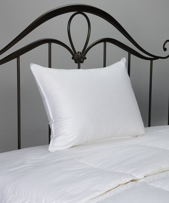 Cotton Sateen Down Pillow