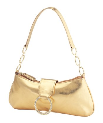 DYEABLES Gold Ring Shoulder Bag