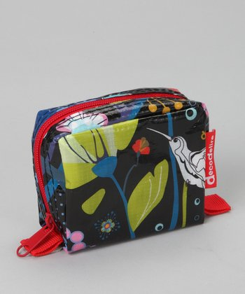 Red Colibri Zipper Purse