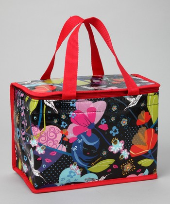Red Colibri Lunch Bag