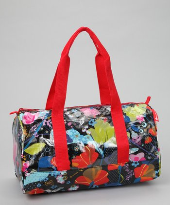 Red Colibri Mini Duffel Bag