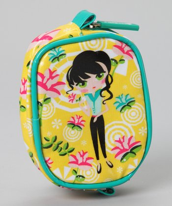 Yellow Sweet Kaya Coin Purse