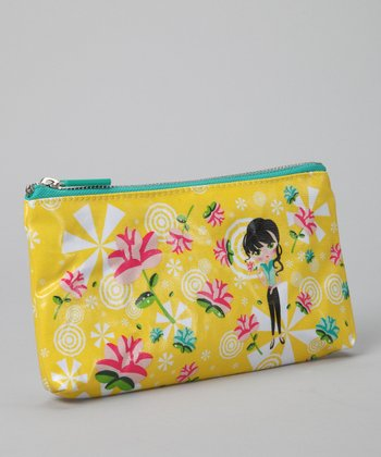 Yellow Sweet Kaya Cosmetics Case
